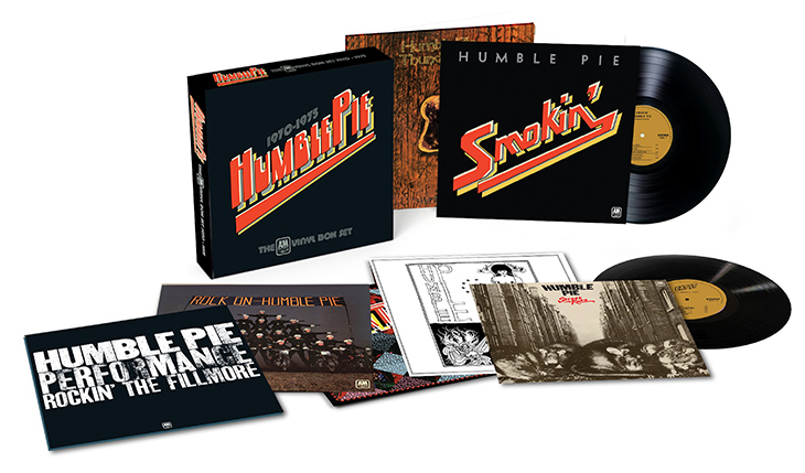 Humble Pie A&M Years Vinyl Box Set web 730