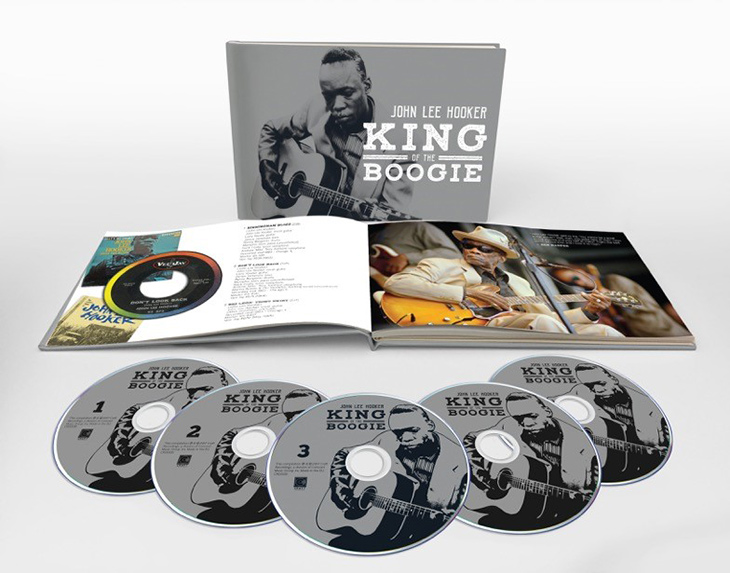 John Lee Hooker King Of The Boogie box set web 730