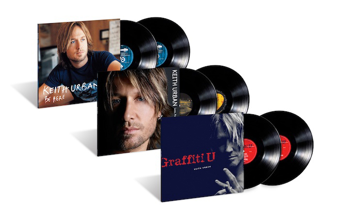 Keith Urban Vinyl Reissues