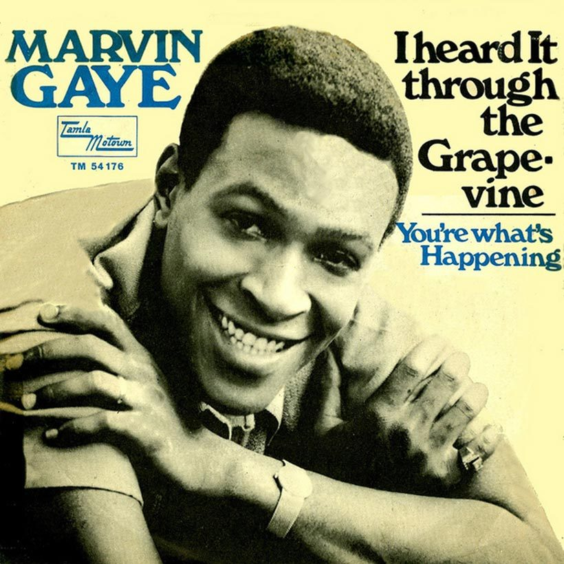 Marvin Gaye I Heard It Through The Grapevine Single cover