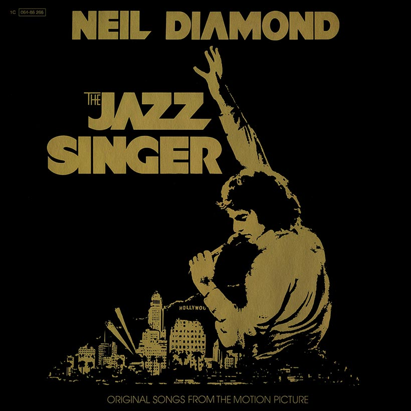 Neil Diamond The Jazz Singer album cover web optimised 820