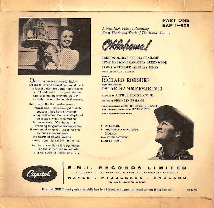 Oklahoma! Soundtrack LP