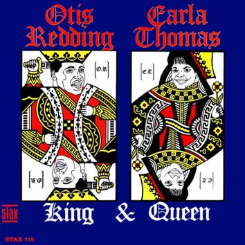 Otis Redding And Carla Thomas King And Queen album cover web optimised 820