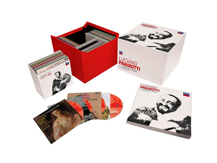 101-Disc Box Set Marks Tenth Anniversary Of Opera Legend Luciano Pavarotti's Passing