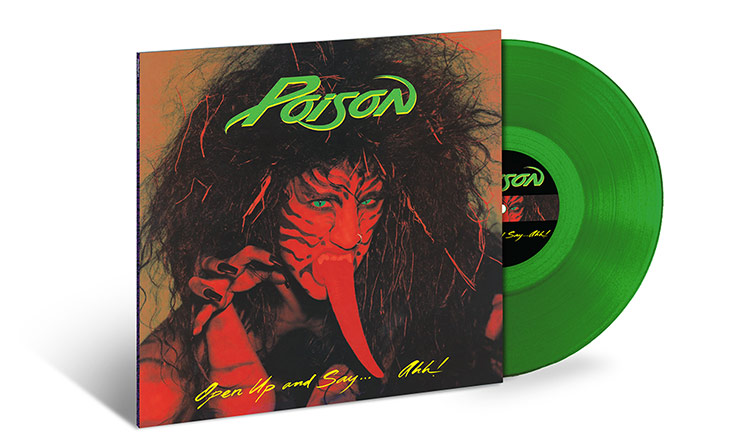 Poison Open Up And Say Aah green vinyl web optimised 740