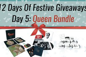 Festive Giveaway Day 5: Queen