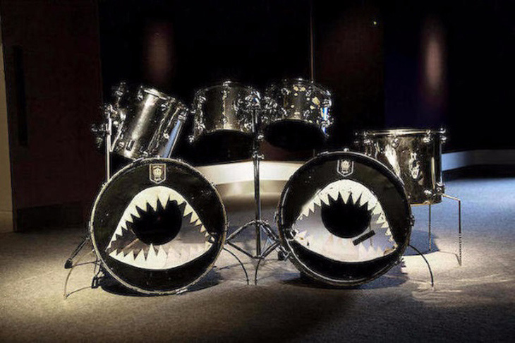 Motörhead Drum Kit Auction