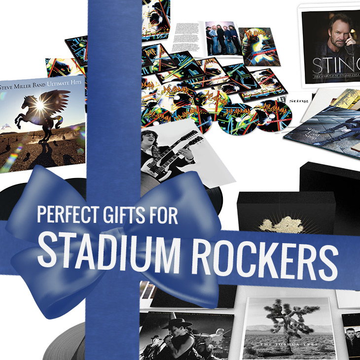 Perfect Christmas Gifts For Stadium Rockers