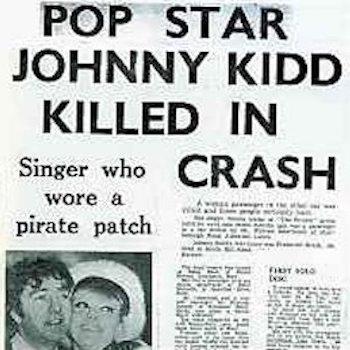 Johnny Kidd 1966 newspaper