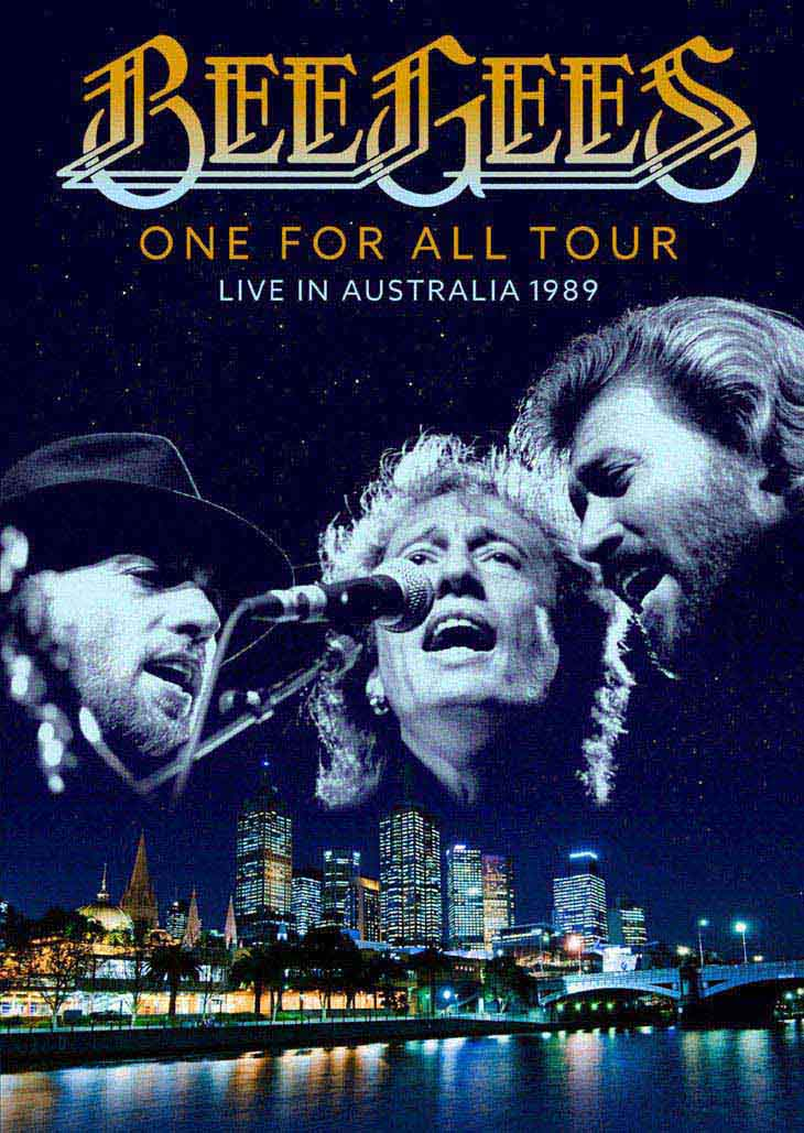 the bee gees one for all tour live in australia dvd release. Black Bedroom Furniture Sets. Home Design Ideas