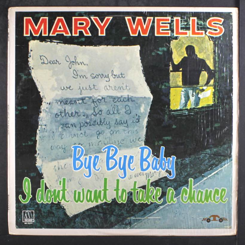 Bye Bye Baby Mary Wells