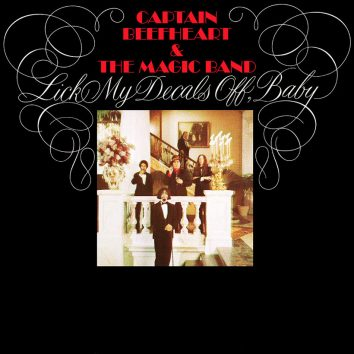 Captain Beefheart Lick My Decals Off, Baby album cover web optimised 820