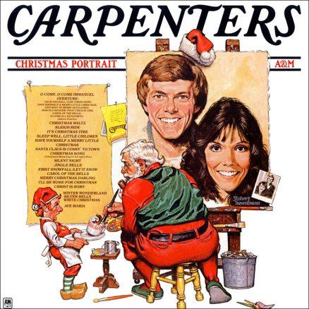 Carpenters Christmas Portrait album cover web optimised 1000 with border
