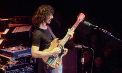 Frank Zappa Roxy live press image
