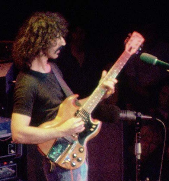 Frank Zappa Roxy live press image