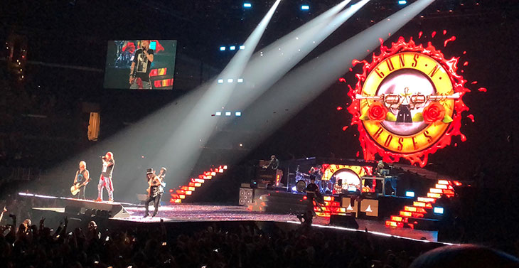 Guns N Roses Wrap Up Their Not In This Lifetime Tour Udiscover