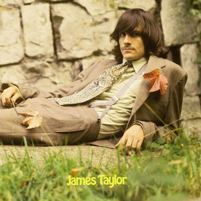 James Taylor Debut album cover web optimised 820