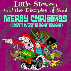 Little-Steven-Merry-Christmas-(I-Don't-Want-To-Fight-Tonight-Album-Cover