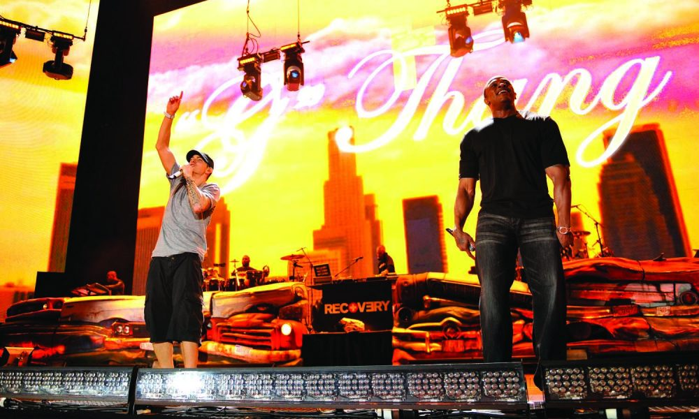 best Eminem collaborations featured image Recovery 2010 press shot web optimised 1000 CREDIT Kevin Mazur