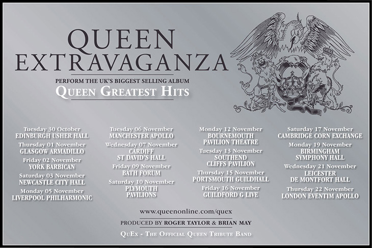 Queen Extravaganza Set To Tour Uk In Autumn 2018