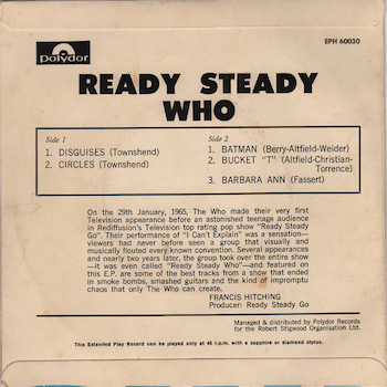 Ready Steady Who back cover