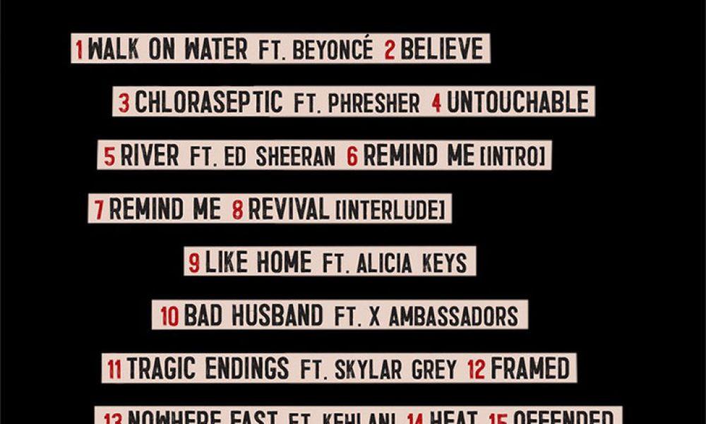 Eminem Reveals Tracklist For Revival