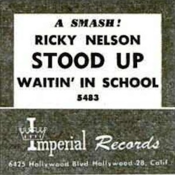 Ricky Nelson Stood Up Billboard