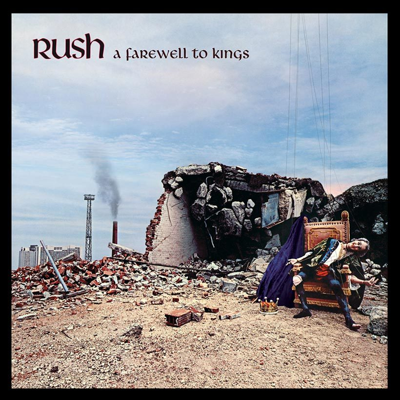 Rush A Farewell To Kings album cover web optimised with border 820