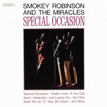 Smokey Robinson and The Miracles Special Occasion