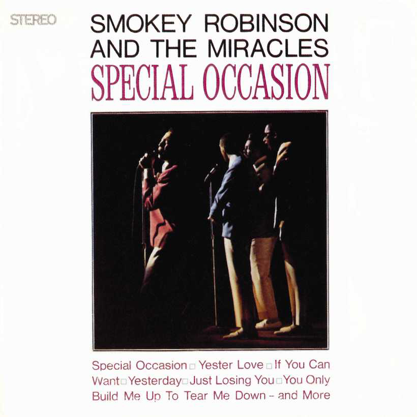 Smoke -Robinson and The-Miracles Special Occasion