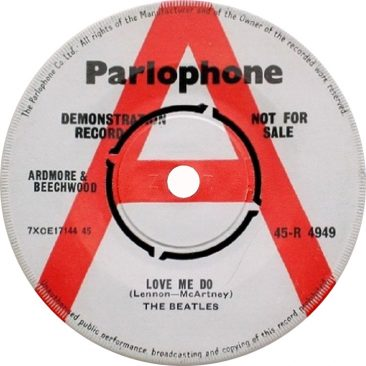 The Beatles' 'Love Me Do' Sells For Almost $15,000 On Discogs