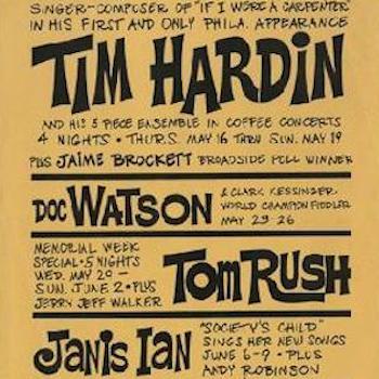 Tim Hardin Bill Poster