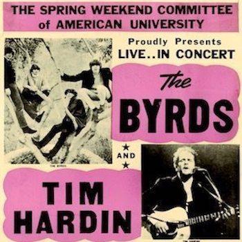 Tim Hardin Byrds poster