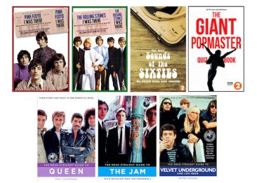 Win Seven Must-Have Music Books Covering The Stones, Pink Floyd, Queen & More!