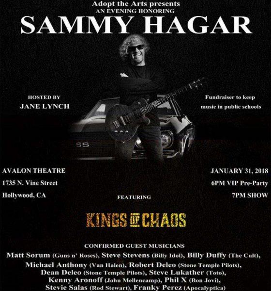 Sammy Hagar Honored