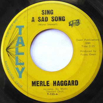 sing a sad song Merle Haggard