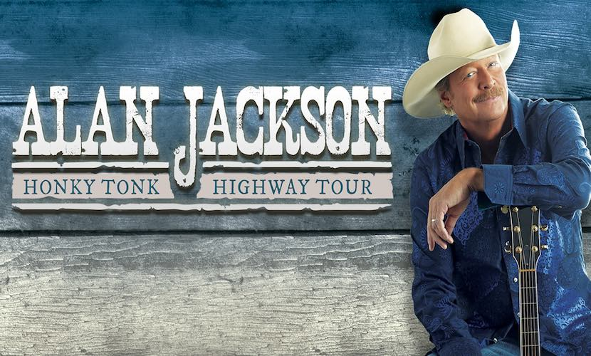 alan jackson speeds into 2018 on honky tonk highway - Alan Jackson Honky Tonk Christmas