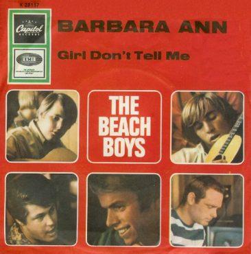 Beach Boys Start '66 In Company Of 'Barbara Ann'