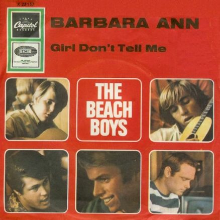 Barbara Ann Beach Boys red
