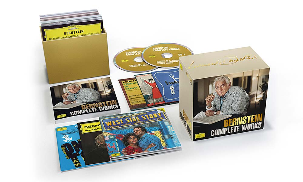 Leonard Bernstein Complete Works Box Set Packshot web optimised 1000