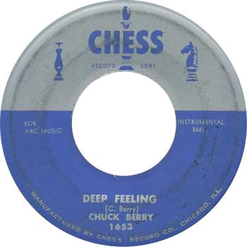 Chuck Berry Deep Feeling Single label web 350 optimised