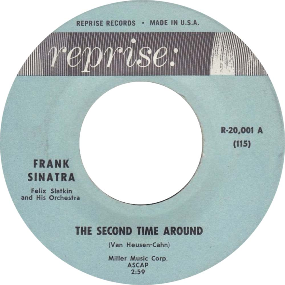Frank Sinatra The Second Time Around Single Label web 1000 optimised