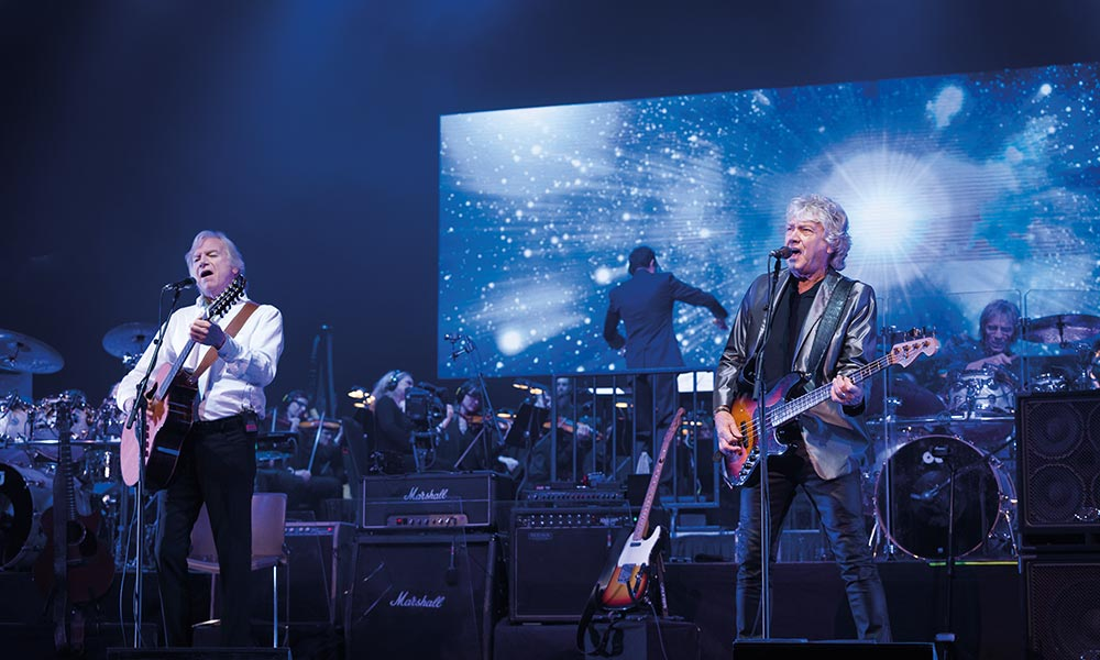 The Moody Blues Tour  Uk