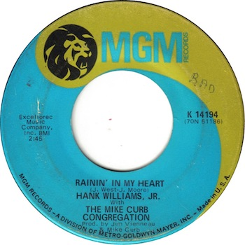 Rainin' In My Heart Hank Williams Jr