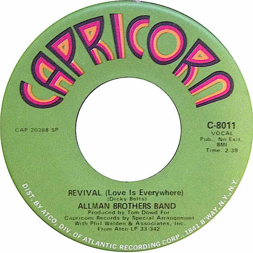 Revival Allmans Capricorn
