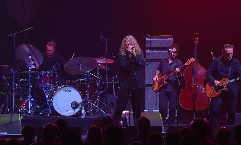 'Robert Plant & The Sensational Space Shifters Live At David Lynch's Festival Of Disruption' Set For DVD Debut