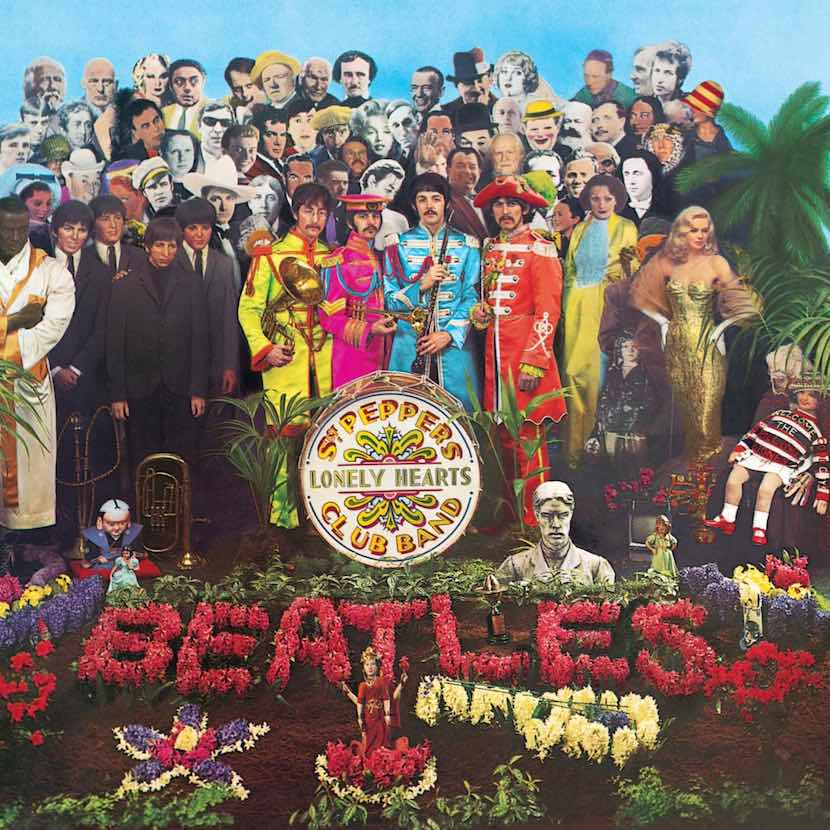 Image result for the beatles sgt peppers album cover