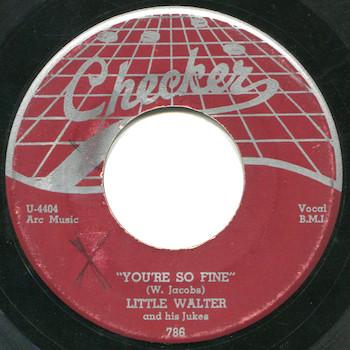 You're So Fine Little Walter