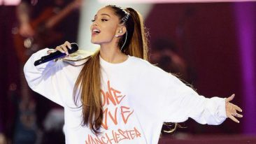 Ariana Grande Leads London's New Year's Eve Fireworks Soundtrack