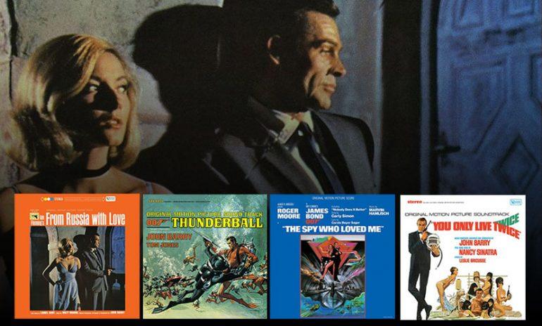 Win Four James Bond Soundtracks On Vinyl